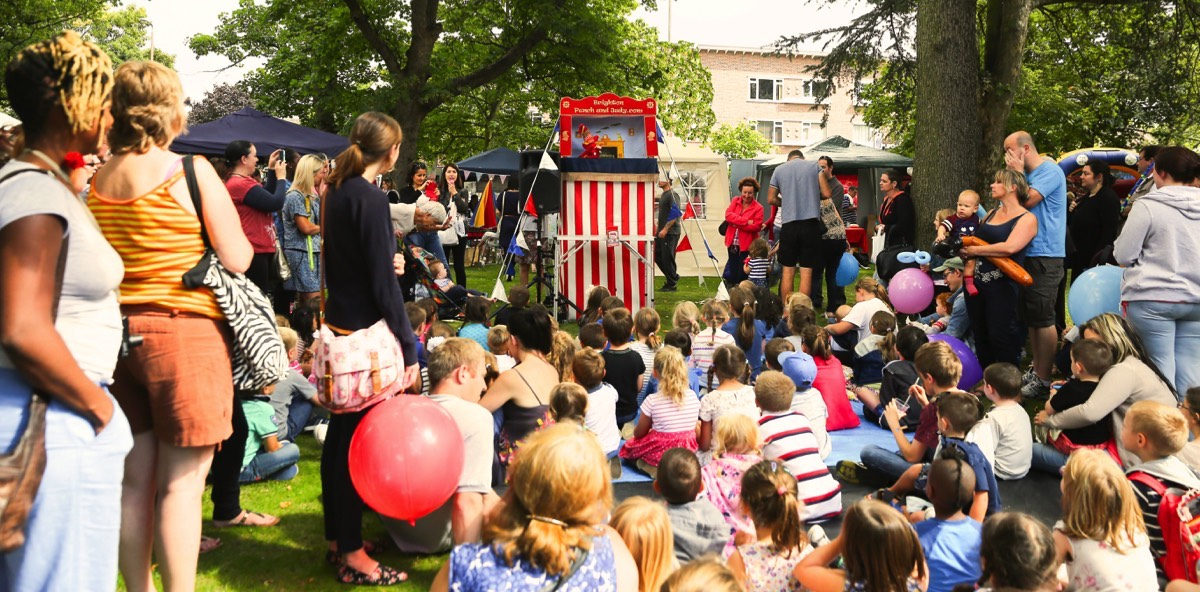 punch and judy show london