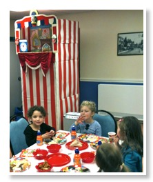 punch and judy childrens party
