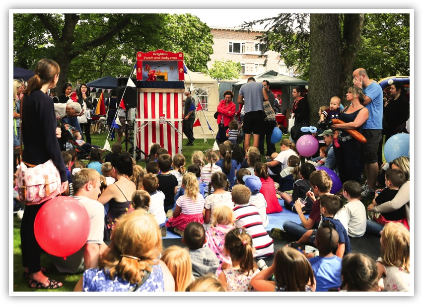 punch and judy kids entertainer